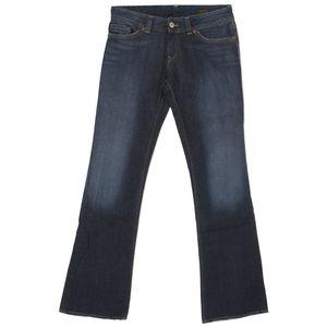19966 Herrlicher, Shape,  Damen Jeans Hose, Stretchdenim, blue used, W 31 L 34