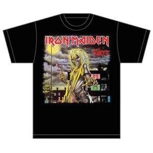 Iron Maiden Killers Cover Mens T Shirt: Medium