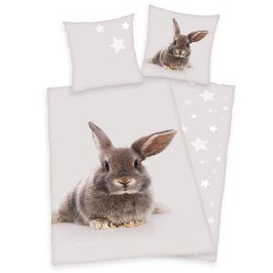 Herding Bettwäsche Hase Kaninchen 135 x 200cm 100%Baumwolle