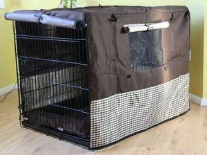 X-treme Sleep Abdeckung für Hundegitterbox Größe XXL Cover Abdeckplane mit vielen Öffnungen