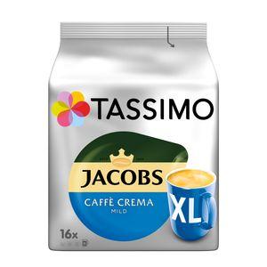 Tassimo Jacobs Caffè Crema mild XL | 16 T Discs, Kaffeekapseln