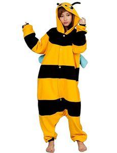Jumpsuit, Onesie für Erwachsene Biene L (165-175cm)