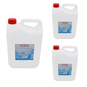 15 Liter Destilliertes Wasser (3 Kanister mit je 5 Litern)