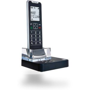 Motorola Schnurloses Telefon analog IT.6.1TX ultraflach, Design Telefon, Freisprechen, Anrufbeantworter