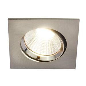 Nordlux LED Einbaustrahler Dorado in Nickel 3x5,5W 345lm eckig