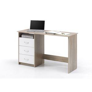 39-465-68 Schreibtisch Adria Eiche Sägerau Nachbildung ca. 120 cm breit