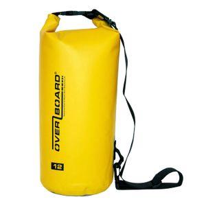 Overboard, Packsack, wasserdichter Packsack 12 Liter Gelb,