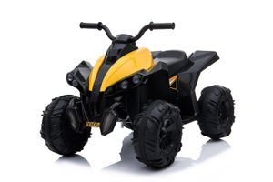 ATV Quad Kindermotorrad Kinderfahrzeug Elektro Pocket Bike Motorrad, Farbe:Gelb
