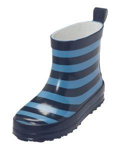 Playshoes Gummistiefel Ringel Größe: 25, in marine/hellblau