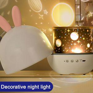 Sternenhimmel LED Projektor, Kinder Nachtlicht 360° Rotierend Projektionslampe Schlummerlicht Nachtlicht Schlafzimmer Lichter für Kinder Babys,Geschenke für Geburtstag Weihnachten