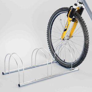 Fahrradständer 3 Plätze 720x330x250mm Radhalter Fahrradhalter Radsport Rad NEU