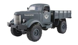 U.S. Militär Truck 4WD 1:16 RTR, blaugrau