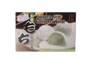 Yuki & Love Reiskuchen mit grünem Tee - japanische Mochi