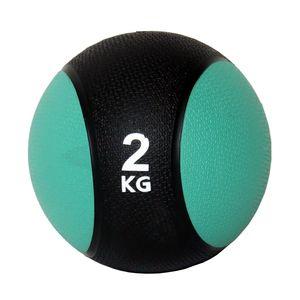 Unibest Medizinball Gymnastikball Gewicht 2kg grün