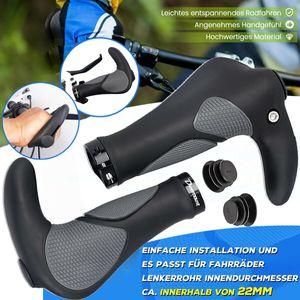 Fahrradgriffe,Fahrradlenker MTB Griffe Ergonomisch Lenkergriffe Rutschfester Fahrrad Trekkingrad für perfekte Griffsicherheit