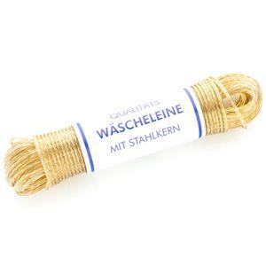 Hansi Wäscheleine mit Vollstahleinlage Stärke: ca. 3,5 mm / Länge: ca. 20 m / ummantelt