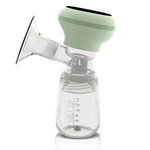 Intelligente Anzeige Elektrische Milchpumpe Wiederaufladbare Ultra geraeuscharme Anti-Reflux Komfortables Pumpen Stillpumpe