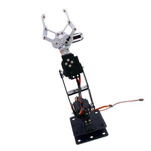 DIY Roboterarm 4-dof Roboter Griff Mechanischer Arm Für Arduino Lern Kit