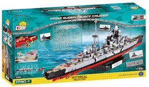 Cobi Hc Wwii /4823/ Prinz Eugen Heavy Cruiser