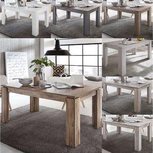 Tisch Esstisch Küchentisch Esszimmertisch Universal ausziehbar 160 - 200 cm, Farbe:Nussbaum