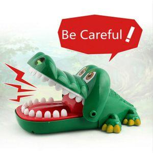 Krokodil-Spiel Mund Biss Finger-Spiel Crocodile Dentist Familien-Spielzeug