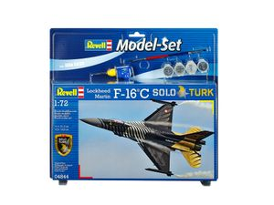 "Revell Model Set F-16 C ""SOLO TÜRK"" - Flugzeug-Modellbausatz; 64844"