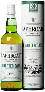 Laphroaig Quarter Cask Islay Single Malt Scotch Whisky in Geschenkpackung | 48 % vol | 0,7 l