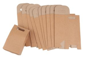 VBS Kraftpapier Geschenktüte, ca. 16x10x6cm, 10 Stück