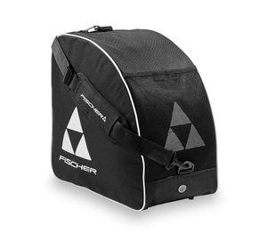 FISCHER - Skibootbag Alpine ECO | Skischuhtasche | Schwarz/Weiß