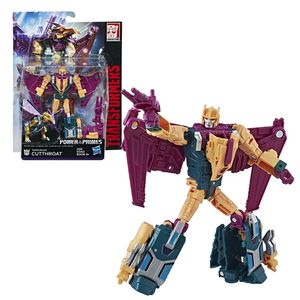 Hasbro E1131 Transformers Deluxe Power of The Primes Cutthroat Roboter Figur