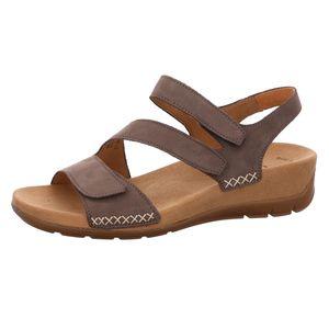 Gabor Sandalette grau Größe 37, Farbe: wallaby