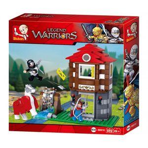 Sluban Legend Warriors Legendäre Krieger Ritter Haus M38-B0616 286 Teile Bausatz