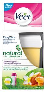Veet Easy Wax Roll-on Wachspatrone essential inspirations alle Hauttypen 50ml