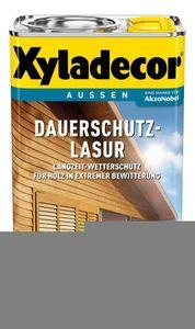 Xyladecor Dauerschutz-Lasur 4 Liter - Farbe: Teak