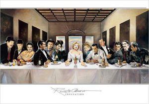Renato Casaro Poster Kunstdruck - Invitation (70 x 100 cm)