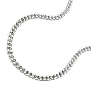 Panzerkette Kette Collier Halskette diamantiert Silber 925 60cm Silberkette