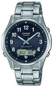 Casio Funkuhr Armbanduhr LCW-M100TSE-1A2ER Titanuhr