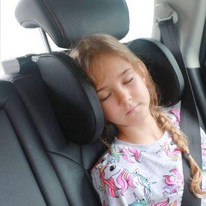 Verstellbare Autokopfstütze( Schwarz) für Kinder/Erwachsene, Kissen Nackenstütze/Kissenhalsstütze /bei Autositz