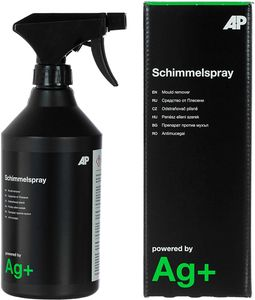 Ag+ Schimmelspray/Schimmelentferner (600 mL) , chlorfrei, mit Aktivsauerstoff-Sofortwirkung und Ag+-Langzeitwirkung
