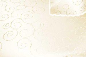 Tischdecke champagner 130x220 cm eckig damast Ornamente bügelfrei fleckenabweisend