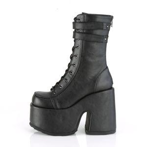Demonia CAMEL-250 Stiefel schwarz, Größe:EU-37 / US-7 / UK-4