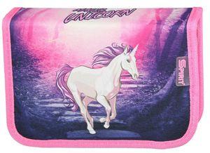 Einhorn Federtasche gefüllt Federmäppchen Stifte Etui Federmappe Unicorn