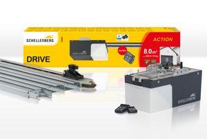 Schellenberg Garagentorantrieb DRIVE Action, 500 N, 433,92 MHz