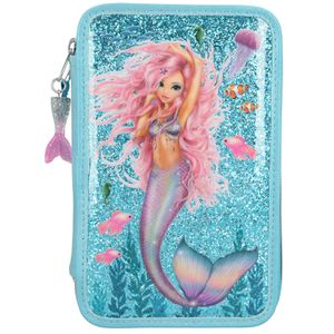 Depesche 10979 Fantasy Model 3-Fach Federtasche Meerjungfrau Mermaid gefüllt
