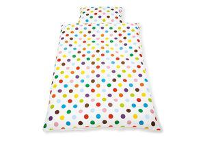 Wendebettwäsche für Kinderbetten 'Dots', 2-tlg.