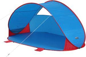 High Peak Pop up Zelt für 2 Personen Strandmuschel, UV Schutz 40 Sonnenschutz extra leicht, Minipackmaß, tragbares Zelt, einfacher und schneller Aufbau