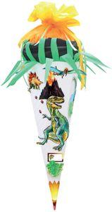 ROTH Schultüte-Bastelset Dino 85 cm, 6-eckig, 3D
