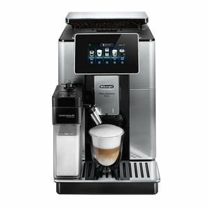 DeLonghi ECAM610.74.MB PRIMADONNA SOUL Kaffeevollautomat Edelstahl, Farbe:Edelstahl