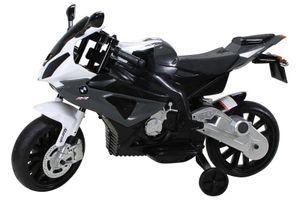 Kindermotorrad Bmw S1000rr Lizenz Kinderelektro Motorrad Kinderfahrzeug Dreirad, Farbe:Schwarz