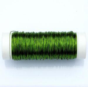 Decolackdraht / 50m - Ø 0,3 mm, Apfelgrün